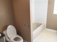 Mûr séparent toilette